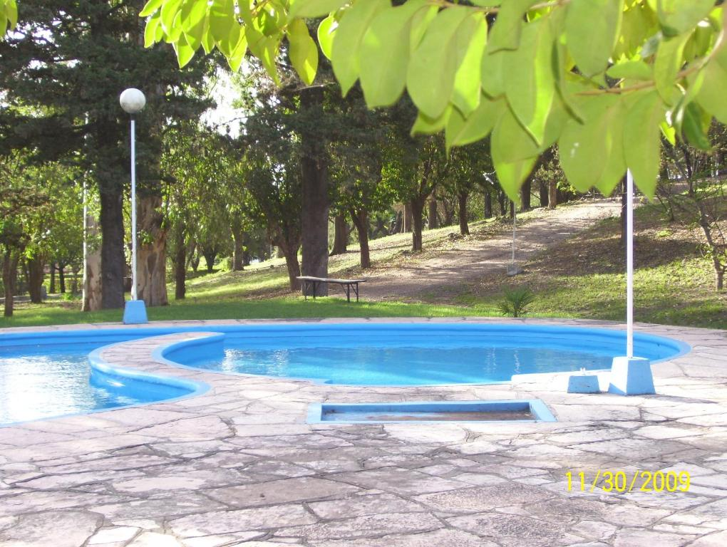 The swimming pool at or near Complejo Seeblick