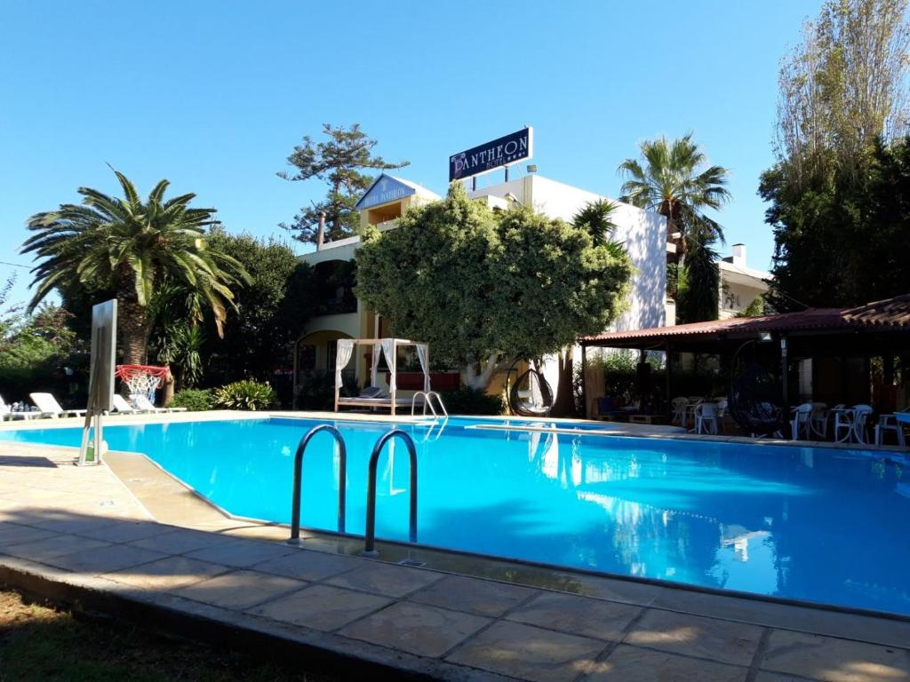 The swimming pool at or near Pantheon Hotel (Adults only)