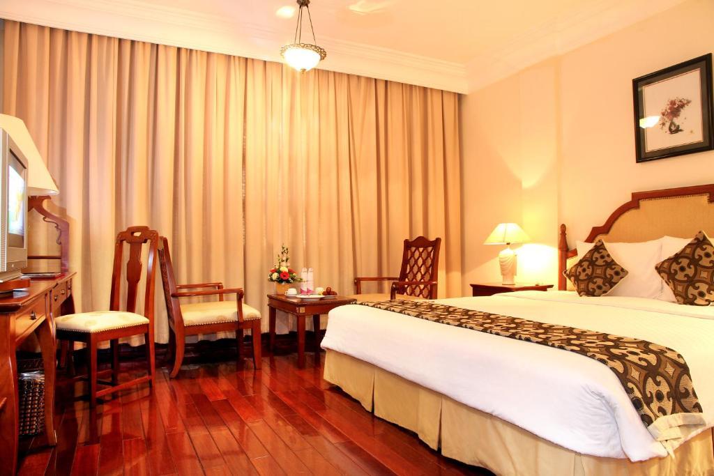 Phòng Colonial Deluxe Giường đôi/2 Giường đơn