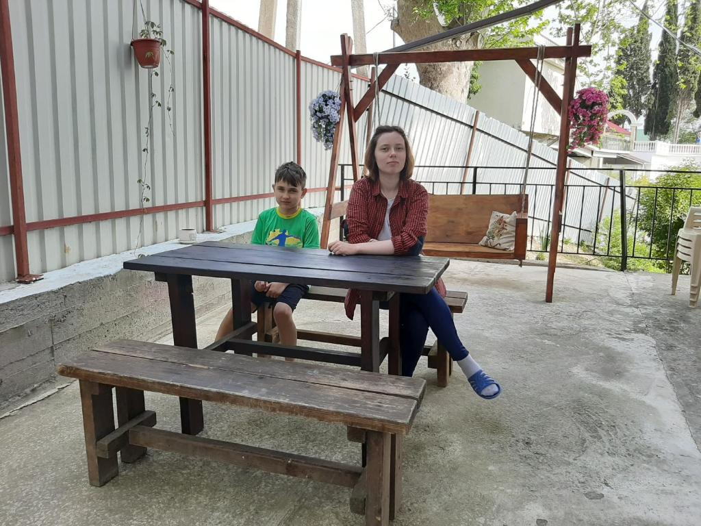 Children staying at Guest House Berezhok