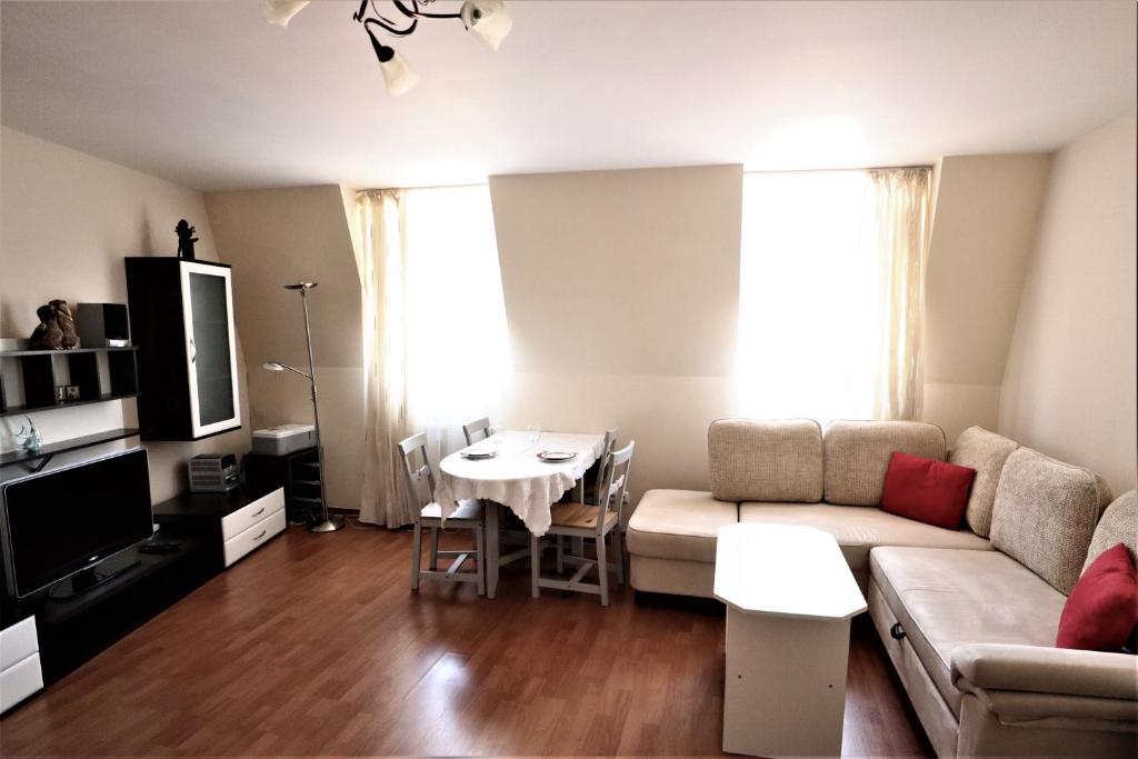 Posezení v ubytování Apartament Viktoria