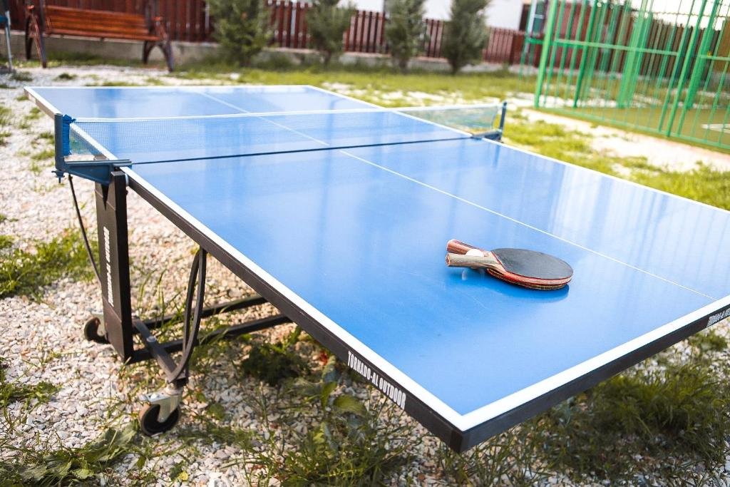 Ping-pong facilities at Guest House Beausoleil or nearby