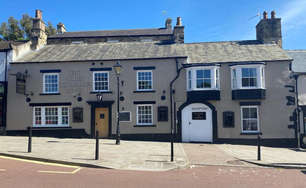 The Three Horseshoes Hotel in Barnard Castle, County Durham, England