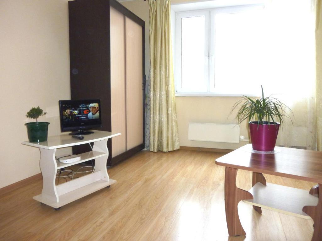 TV o dispositivi per l'intrattenimento presso Apartment Brateevskaya 27