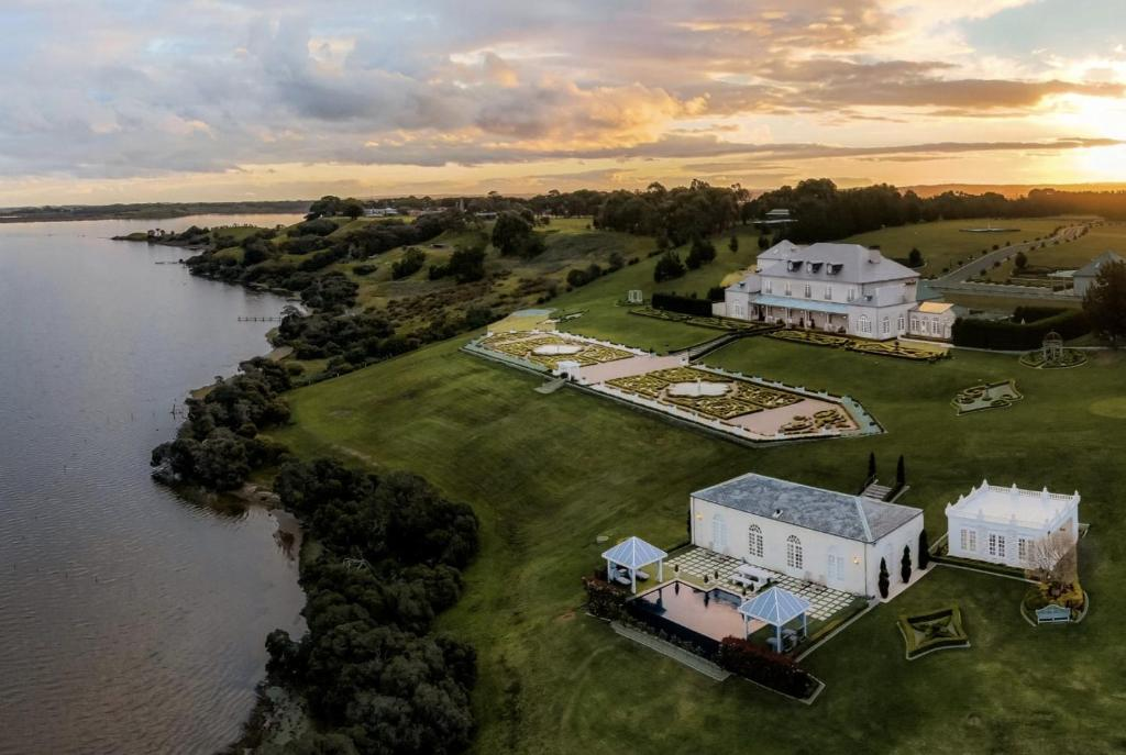 A bird's-eye view of Campbell Point House