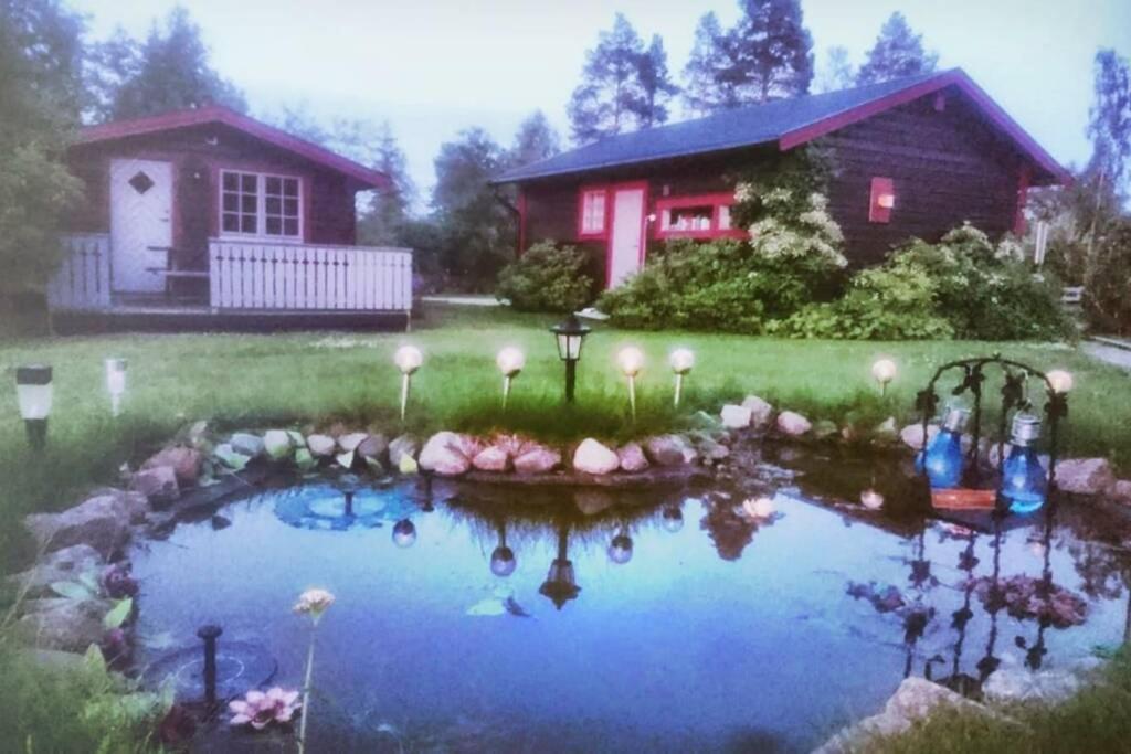 Villa Cosy Cabin close to beach,Aln, Sundsvall, Sweden