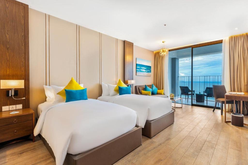 Phòng Deluxe Giường Đôi/2 Giường Đơn Nhìn Ra Đại Dương