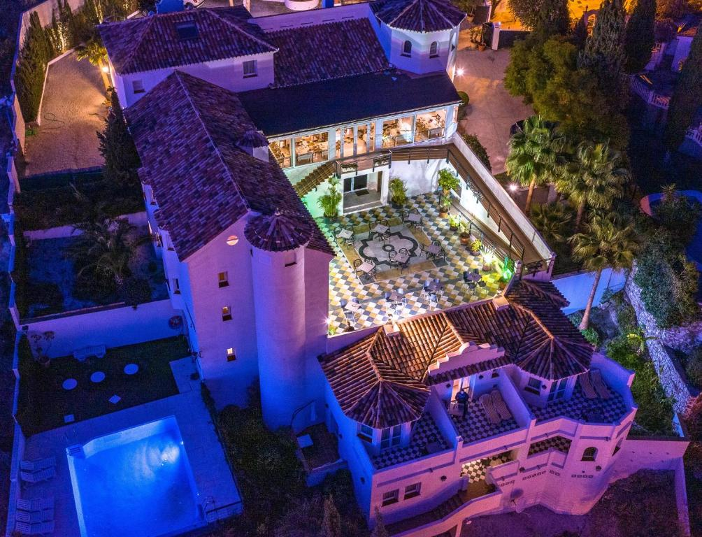 A bird's-eye view of Villa Guadalupe