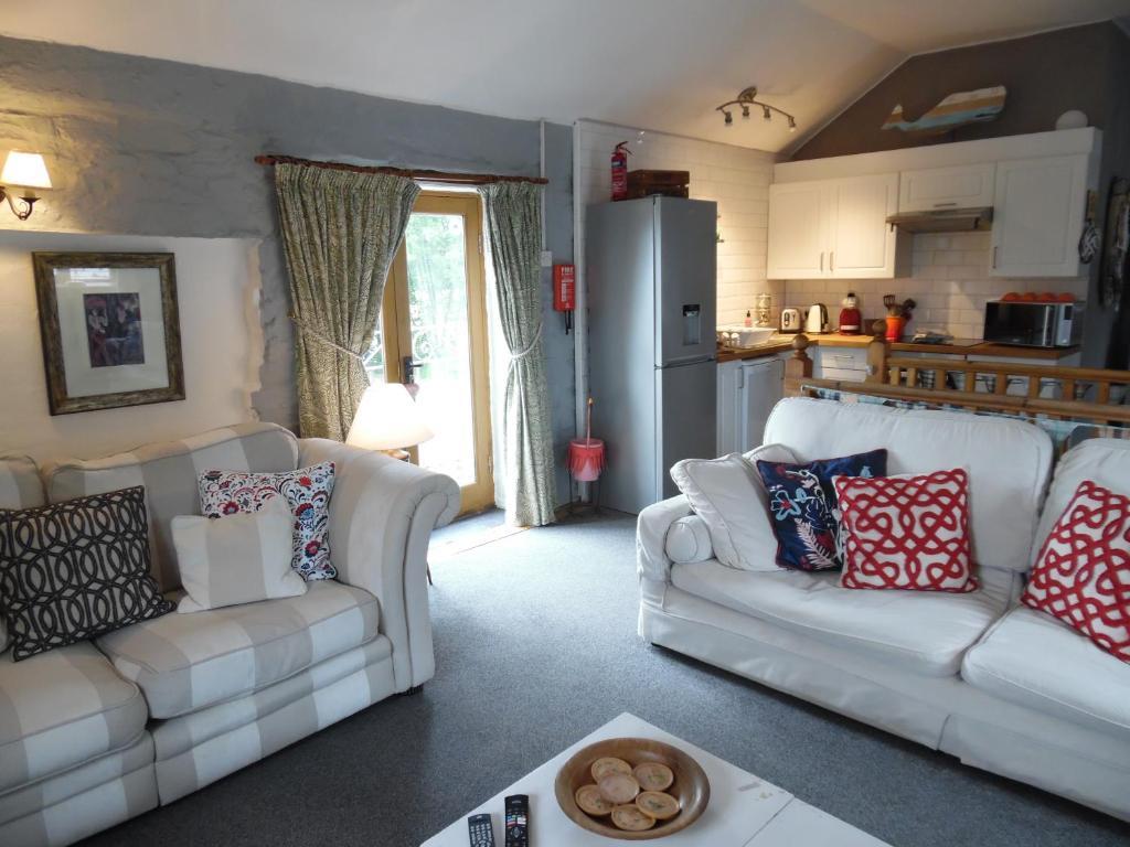 Brambles Cottage in Boyton, Cornwall, England