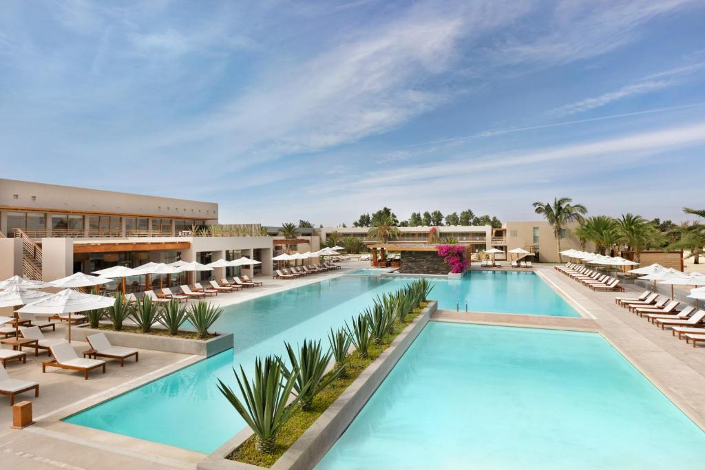 The swimming pool at or near DoubleTree Resort by Hilton Paracas