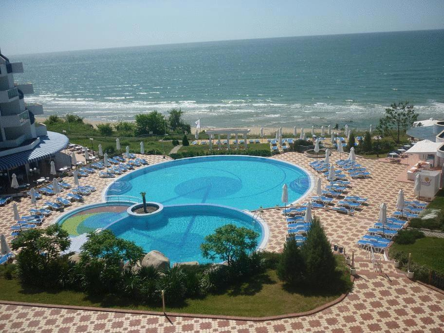 A view of the pool at PrimaSol Sineva Beach Hotel - All Inclusive or nearby