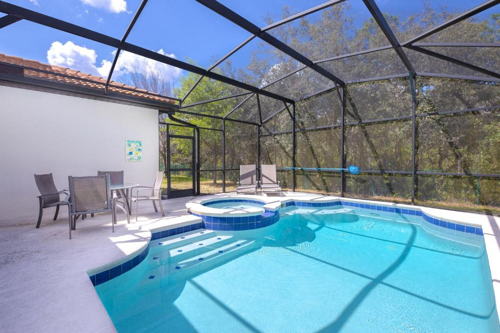 The swimming pool at or close to 2784CA home