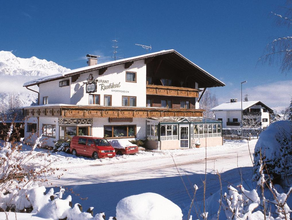 Hotel Kögele during the winter
