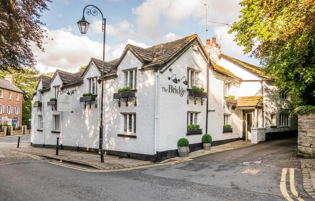 The Bridge Hotel & Restaurant in Prestbury, Cheshire, England
