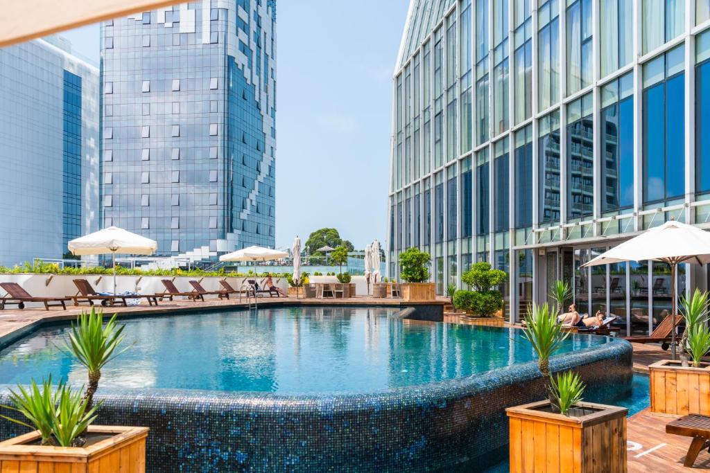Piscina en o cerca de Radisson Blu Hotel Batumi