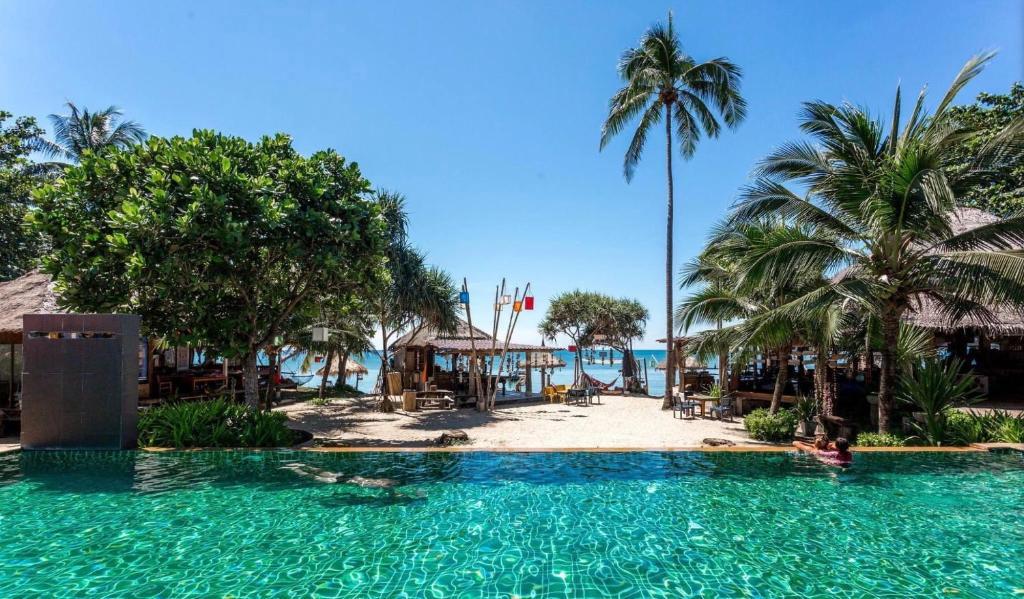 The swimming pool at or near Coco Lanta Resort