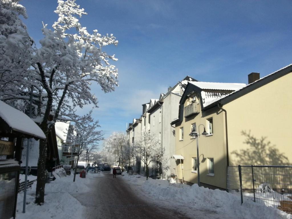 Haus Hinzberg im Winter
