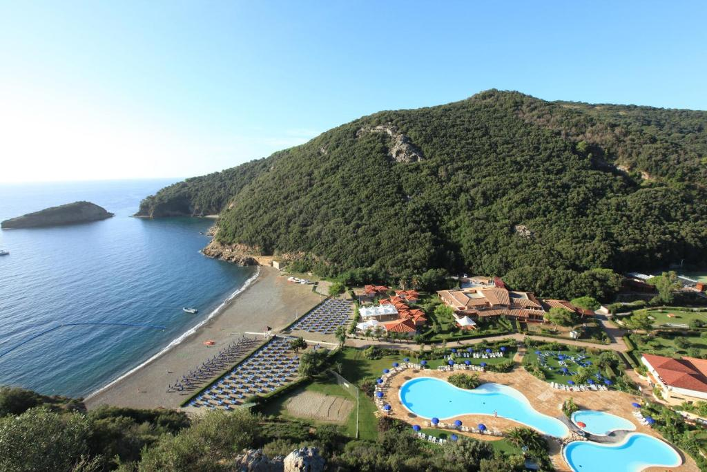 A bird's-eye view of TH Ortano Mare Village