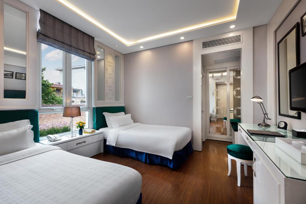 Phòng St Gildas 2 Giường đơn