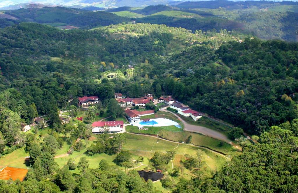 Uma vista aérea de Hotel Cabeça de Boi
