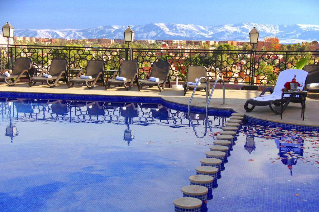 The swimming pool at or near Hotel Imperial Plaza & Spa