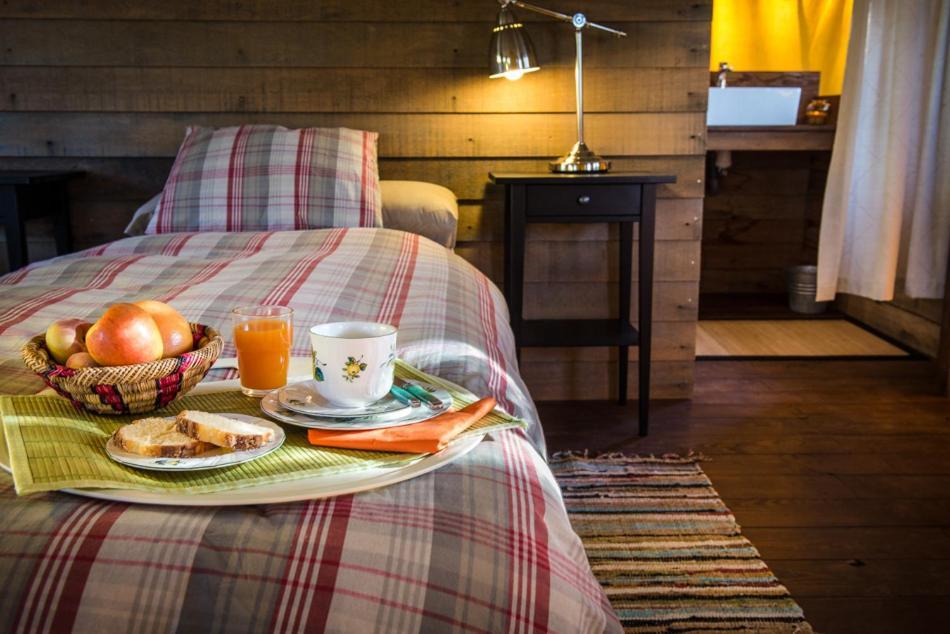 Cama o camas de una habitación en Awa Natura