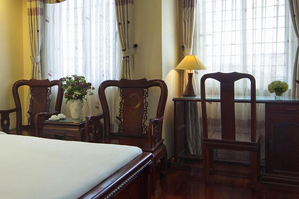 Phòng Deluxe Giường đôi/2 Giường đơn có Cửa sổ