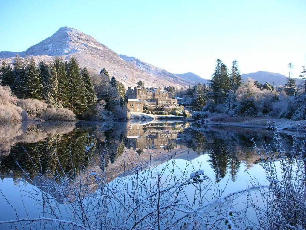 Ballynahinch Castle Hotel during the winter
