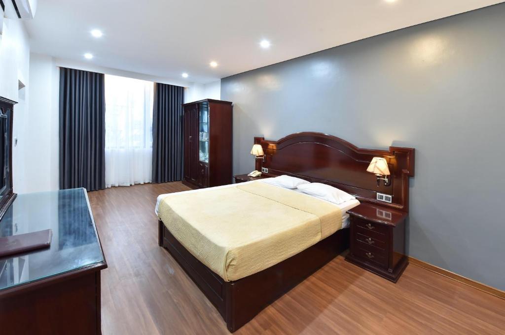 Phòng Superior Giường Đôi/2 Giường Đơn có Ban công & Tầm nhìn ra Biển