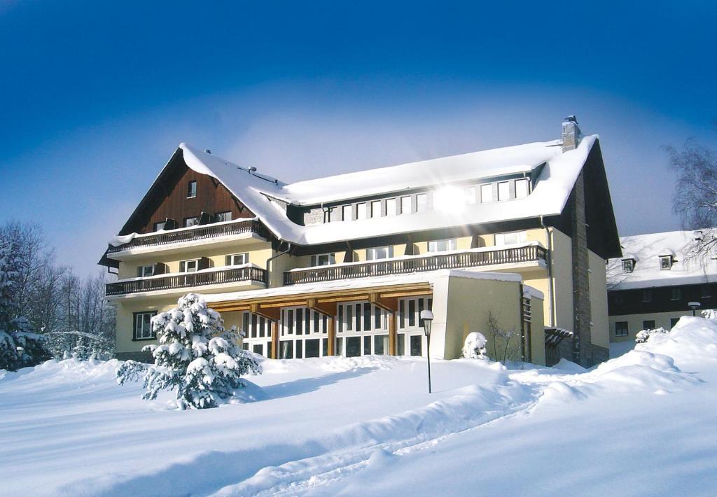 Hotel Haus am Ahorn im Winter