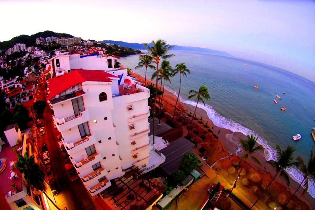 A bird's-eye view of Emperador Vallarta Beachfront Hotel and Suites