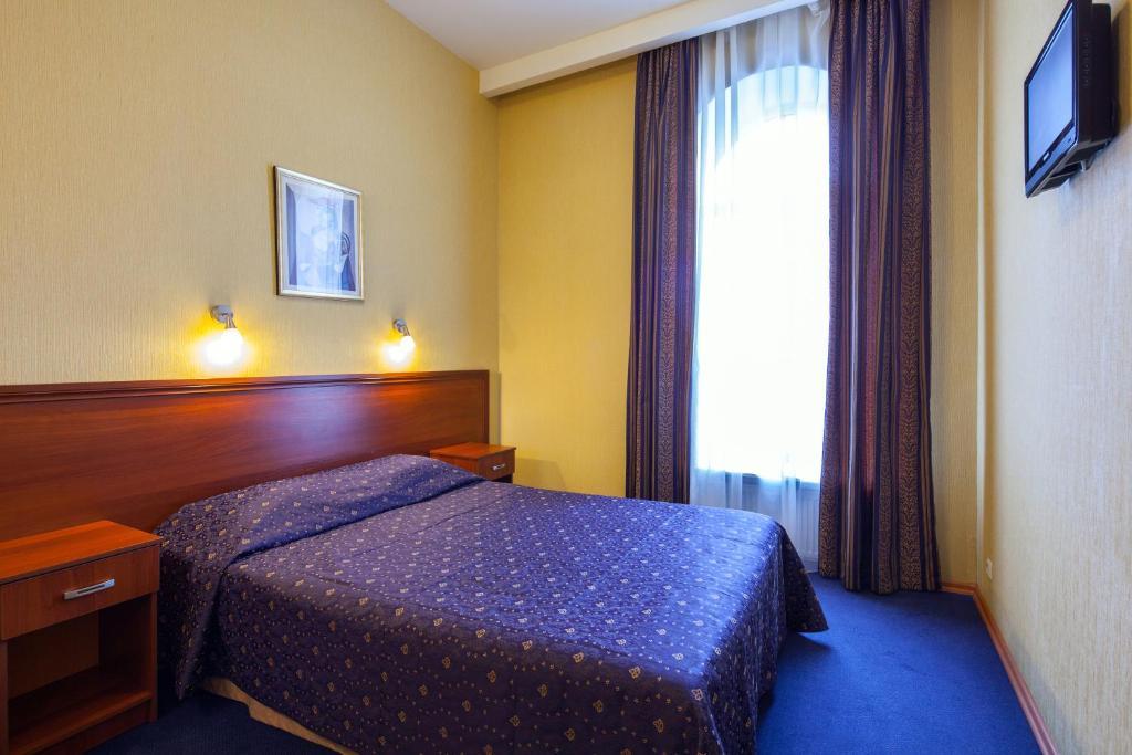 Ein Bett oder Betten in einem Zimmer der Unterkunft Nevsky Express