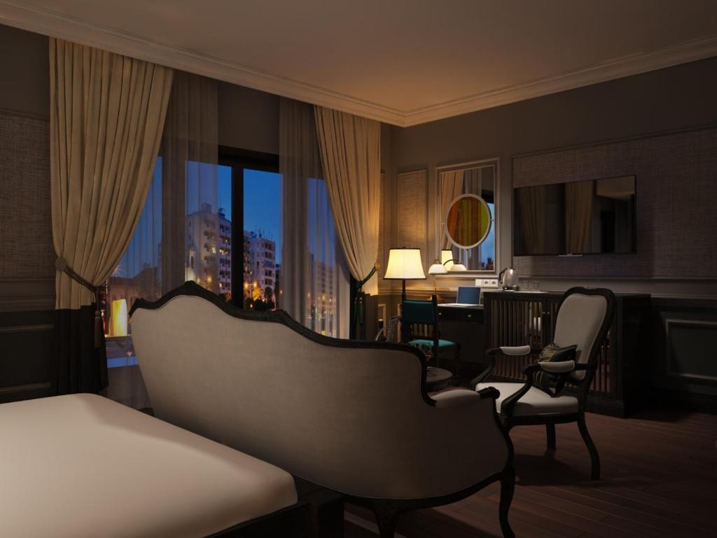 Phòng Premium có Giường Đôi/2 Giường Đơn với Ban công