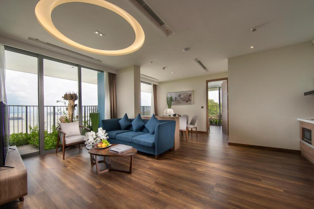 Dinh Thự Deluxe Ocean 2 Phòng Ngủ