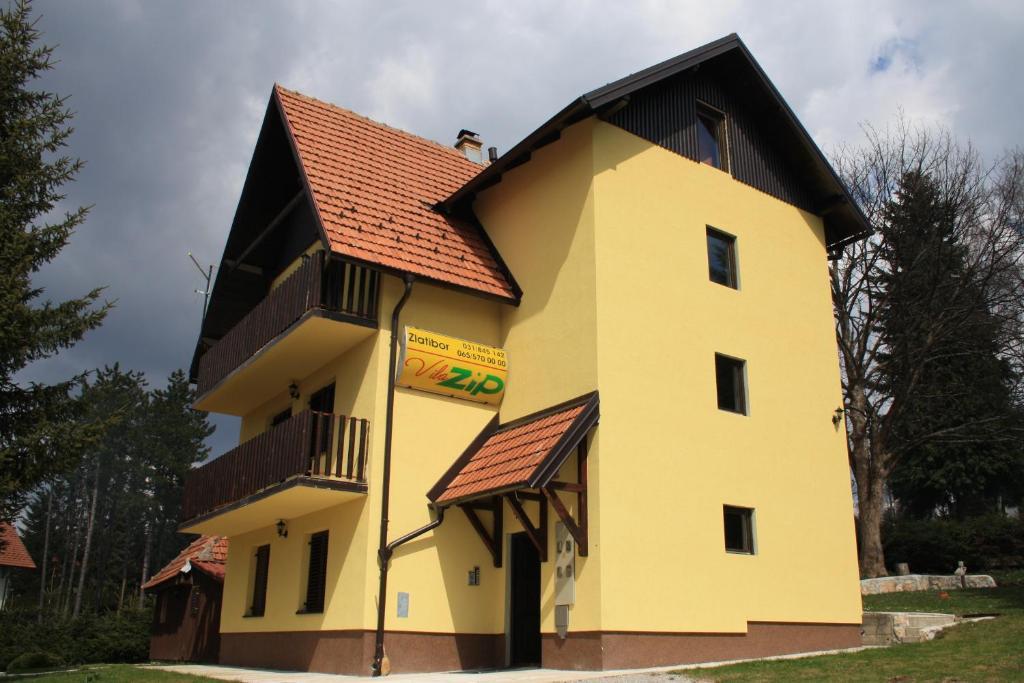 Apartments Vila Zip Zlatibor Serbia Bookingcom