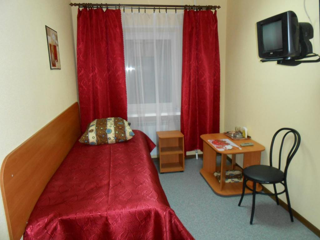 Телевизор и/или развлекательный центр в Гостевой дом Рандеву