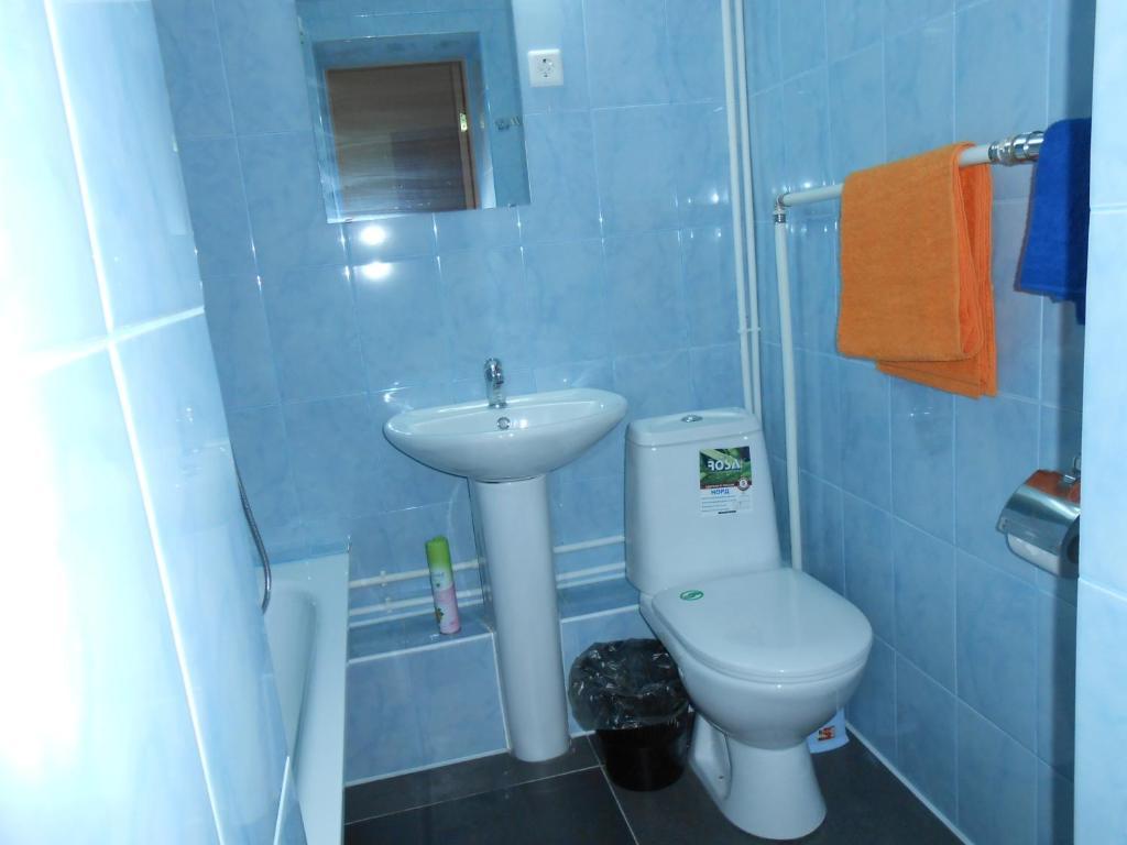 Ванная комната в Гостевой дом Рандеву