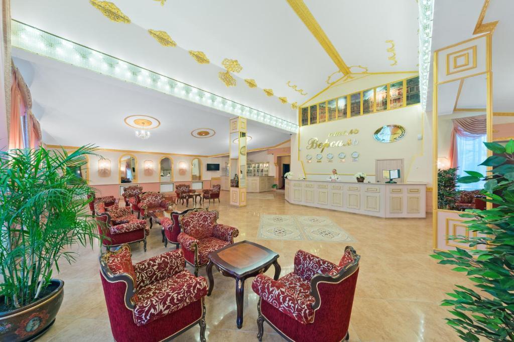 Лобби или стойка регистрации в Версаль Отель