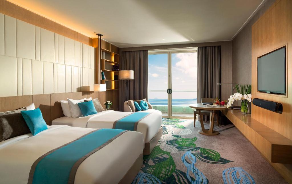 Phòng Club 2 Giường Đơn Nhìn Ra Biển