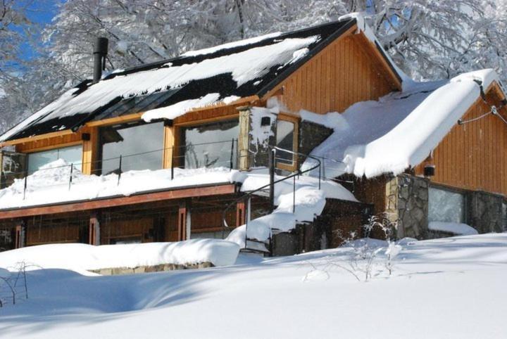 Huella Blanca durante el invierno