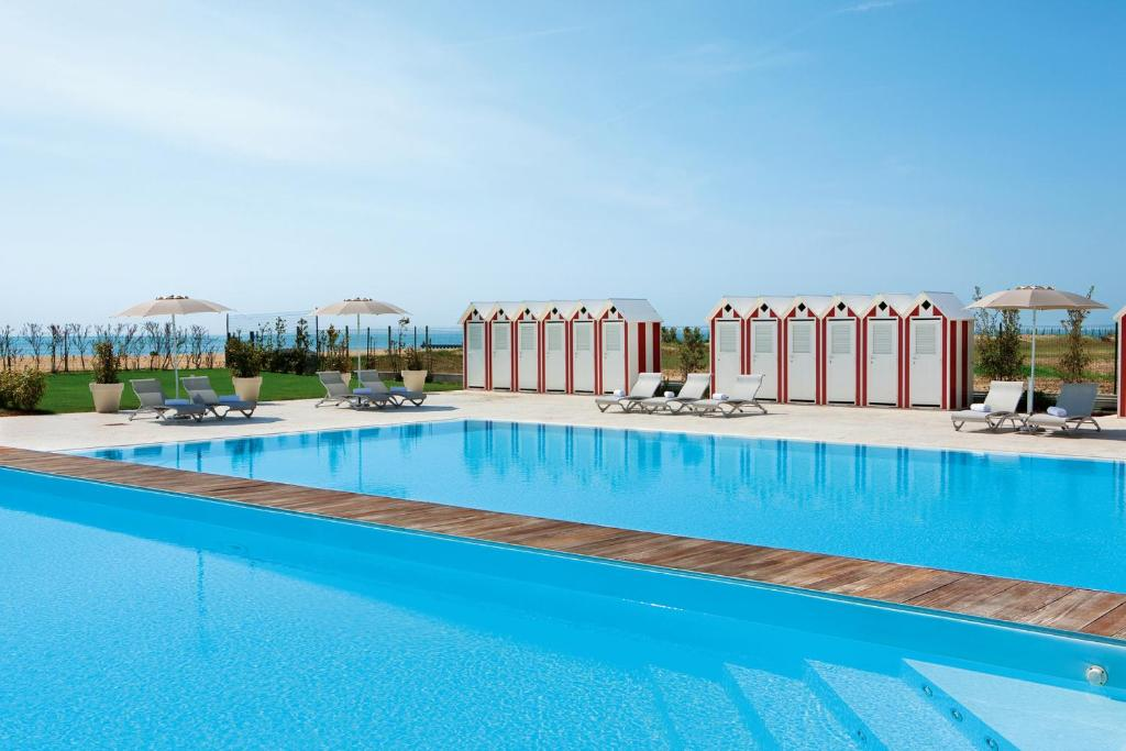 The swimming pool at or near Adriatic Palace Hotel