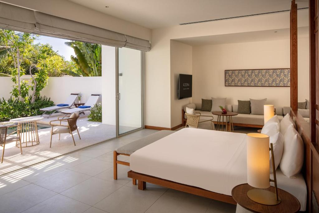 Suite Deluxe Nhìn ra Hồ bơi