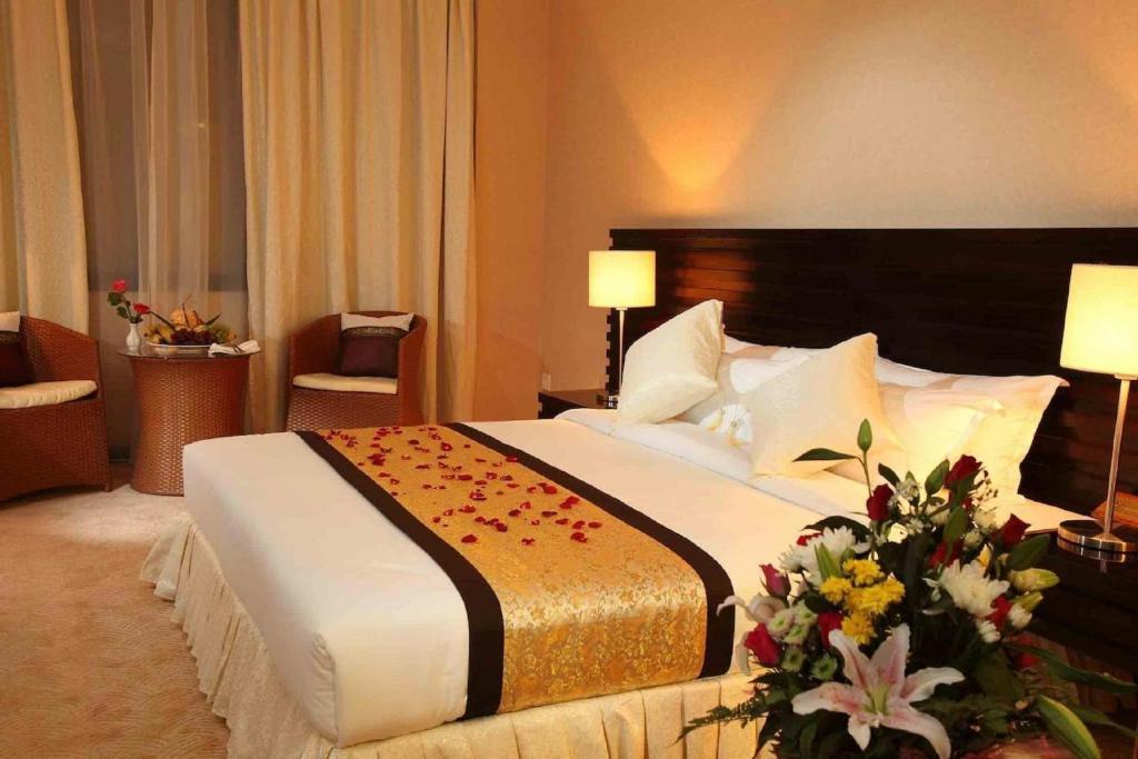 Krevet ili kreveti u jedinici u okviru objekta Savan Resorts