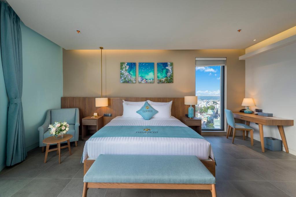 Phòng Executive Có Giường Cỡ Queen Nhìn Ra Biển