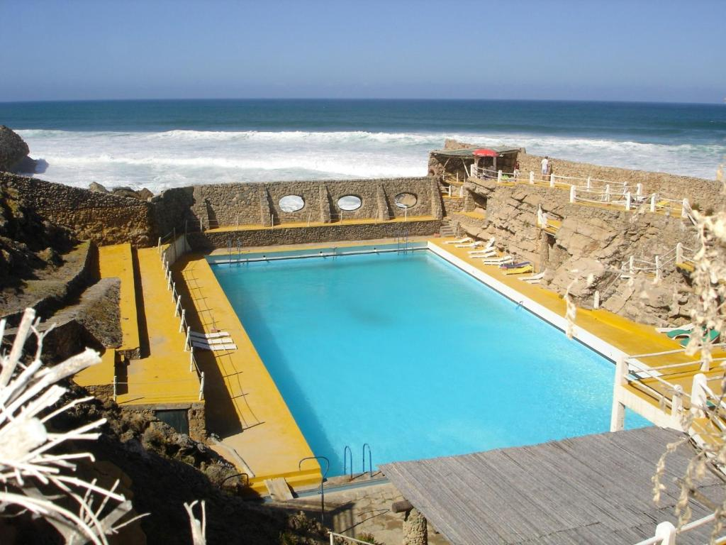 A view of the pool at Estalagem Muchaxo Hotel or nearby