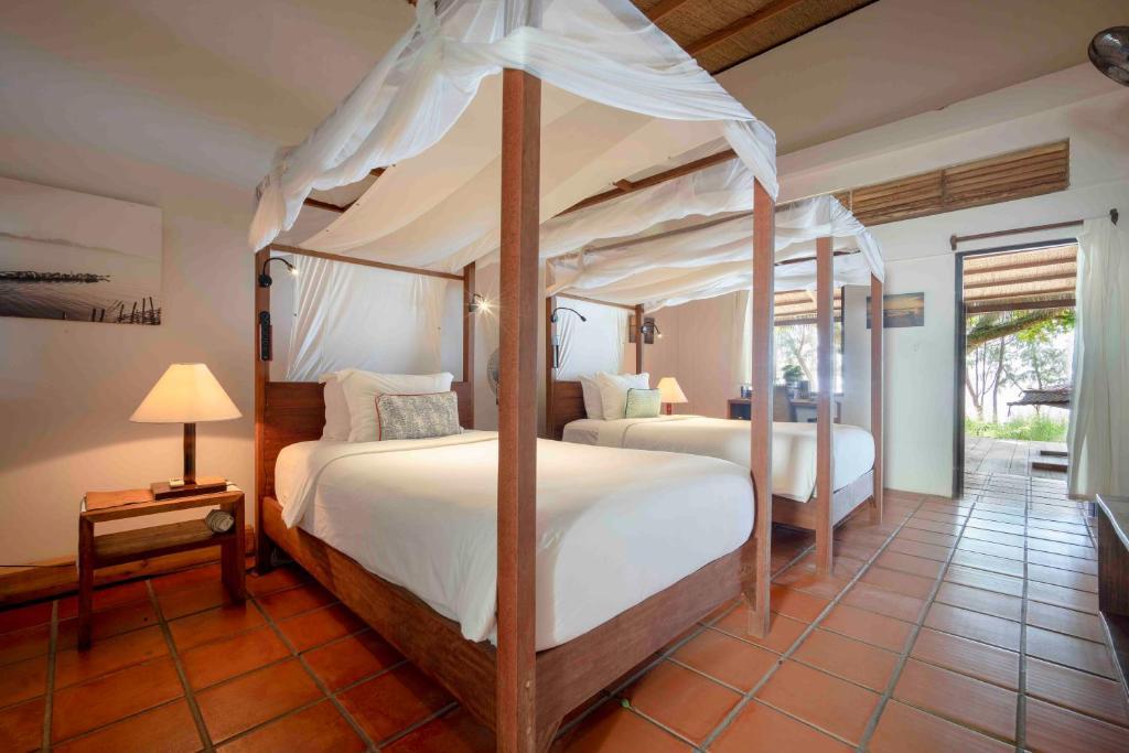 Phòng Superior 2 Giường Đơn Nhìn ra Biển - Hiên