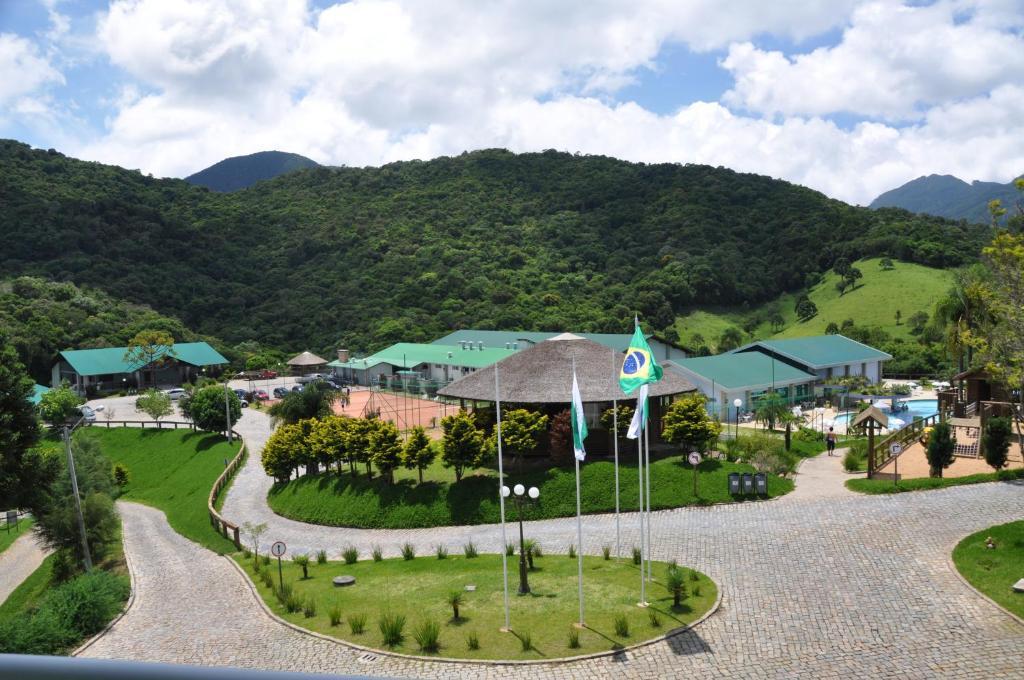 A bird's-eye view of Plaza Ecoresort Capivari