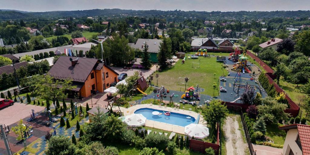 Vista aerea di EkoMotel Na Wierzynka
