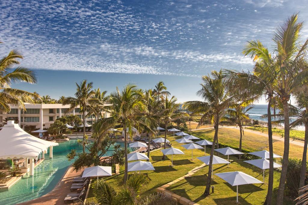 A view of the pool at Sheraton Grand Mirage Resort Gold Coast or nearby