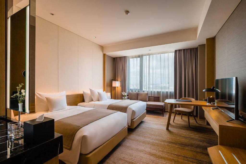 Phòng Premier Corner có 2 Giường đơn